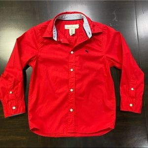 H&M Boys Button Down Shirt Size 6-7Y